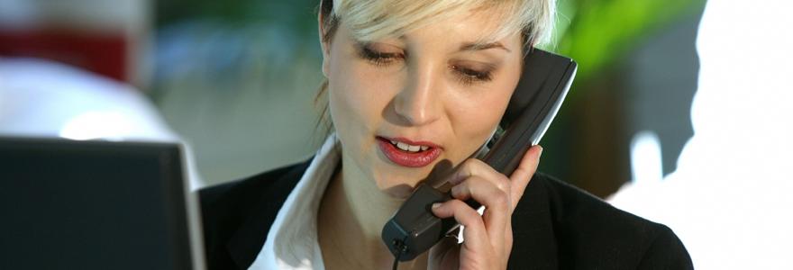 un sondage téléphonique